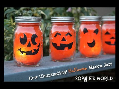 DIY Halloween Luminaries|Sophie's World