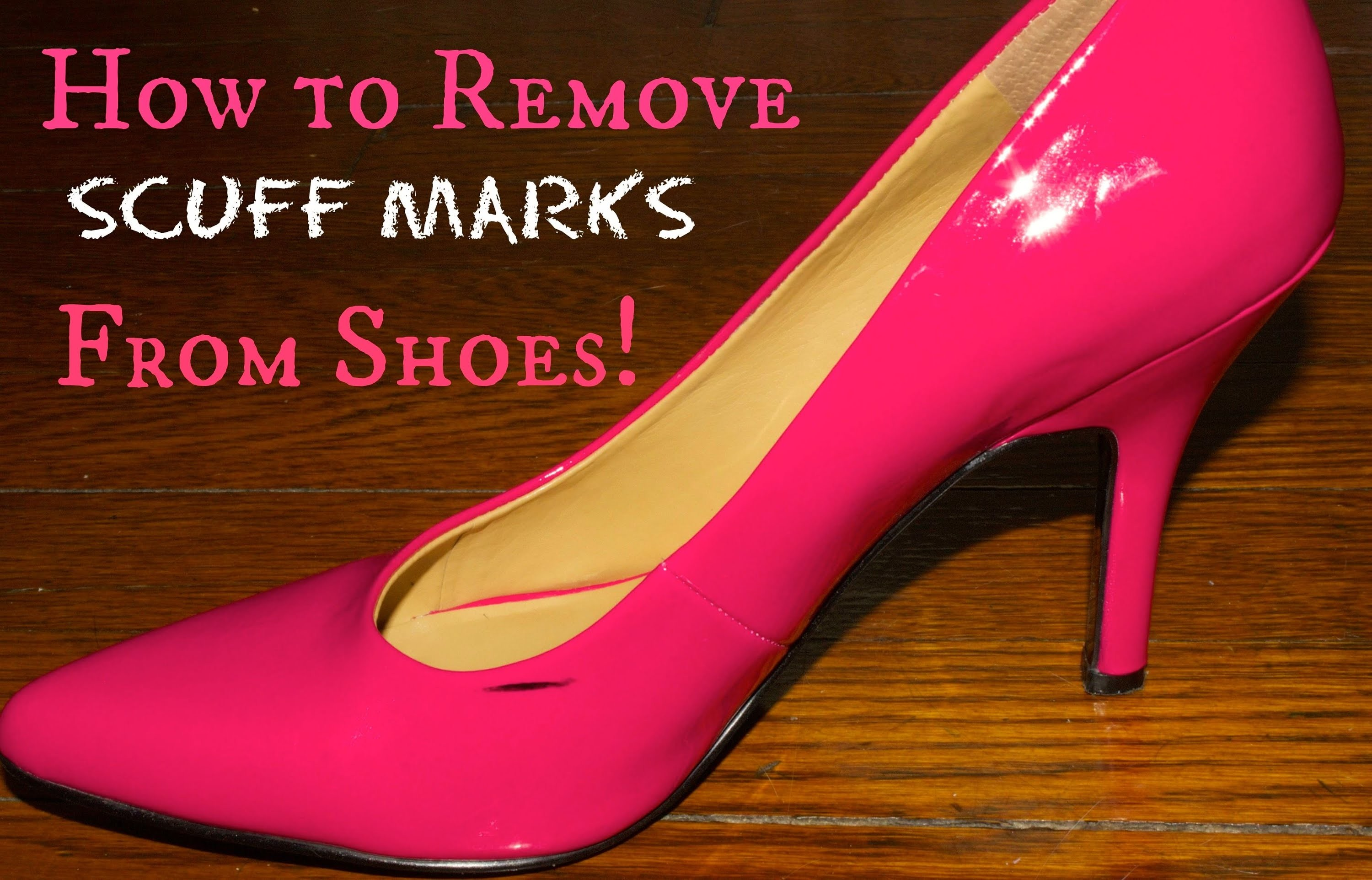 DIY: How to Remove Scuff Marks from Patent Leather   Jalisa's Fashion Files