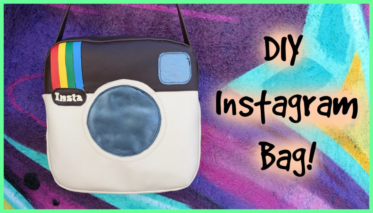 DIY Instagram Vinyl Bag | CraftyAmy