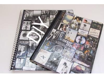 DIY | Laminated Notebook Cover