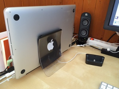 DIY: Make a MacBook stand with a USD 2 napkin holder