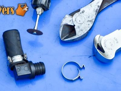 DIY: Removing Ear Crimp Hose Clamps