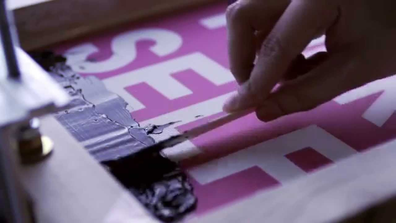 DIY Screen Printing - Do It Yourself