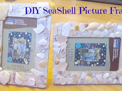 DIY Seashell Picture Frame