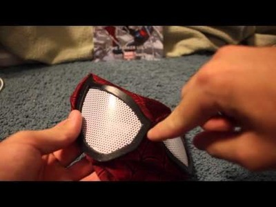 DIY Spider-Man Cosplay Lens Set Up
