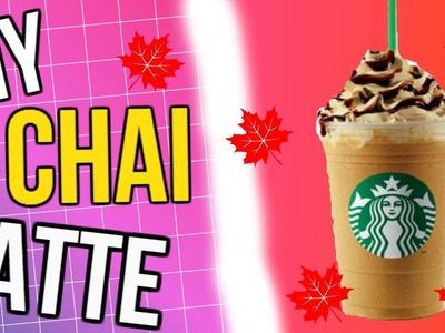 DIY Starbucks Chai Latte | Perfect for Fall!