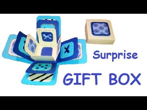 DIY  Surprise gift box