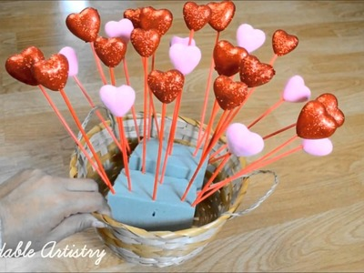DIY Valentine's Day Gift ♡ Chocolate Bouquet