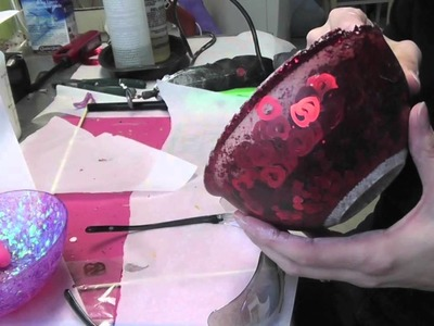 DIY Valentine's Day Resin Heart Bowl