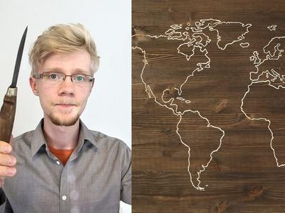 DIY World Map Project