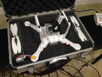 DJI Phantom Carrying Case DIY CHEAP