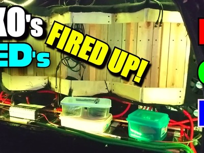 EXO's LED Lights FIRED UP. Cheap DIY Light Kit from EBAY | Bright SMD5050 RGB LEDS & Remote Control