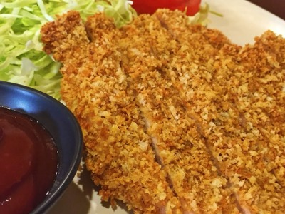 How To Bake a Crispy and Juicy  Pork Tonkatsu - DIY Food & Drinks Tutorial - Guidecentral