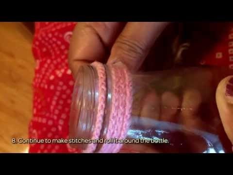 How To Create A Beautiful Flower Vase Using Yarn - DIY Home Tutorial - Guidecentral