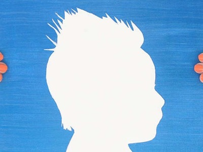 How To Create This Fun Silhouette Painting - DIY Crafts Tutorial - Guidecentral