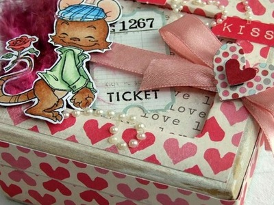 How To Make A Cute Love Themed Chipboard Gift Box - DIY Crafts Tutorial - Guidecentral