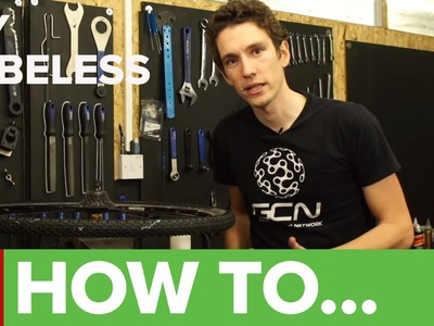 How To Make A DIY Cyclocross Tubeless Setup - Ghetto Tubeless Tyres
