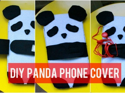 How To Make a Panda Phone Cover | DIY Gift Idea