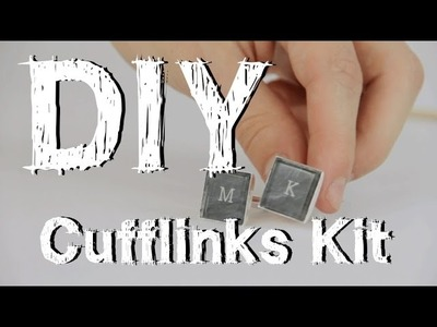 How To Make Custom Cufflinks: MakersKit DIY Guides