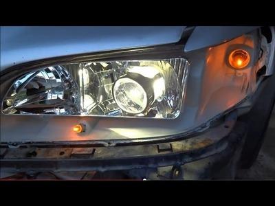 How to Retrofit A Headlight (1998-2002 Honda Accord 6th gen.) DIY