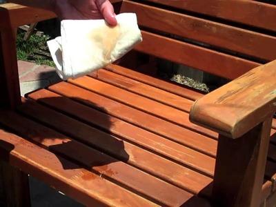 ✇ How To Treat Patio Furniture - Teak Furniture - DIY Outdoor Furniture