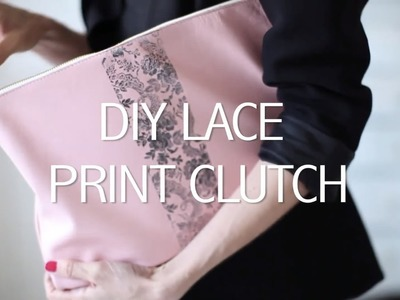 HSN | DIY Lace Print Clutch w.the Anna Griffin Ink Pads & Stamp Set