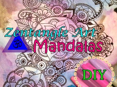 Mandalas o Zentangle Art DIY