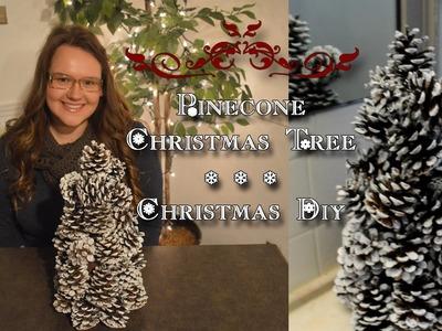 Pinecone Christmas Tree | Christmas DIY #2