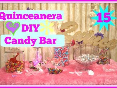 Quinceanera DIY EASY Candy Bar!