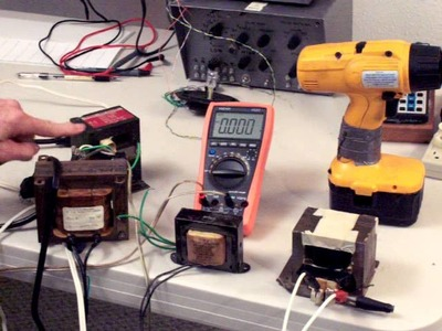 Rewinding MOT transformer to create 18 V 5 Amp power supply DIY for drill.driver
