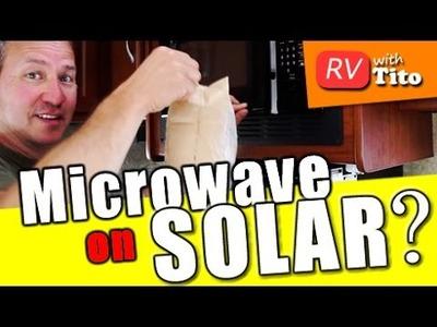 RV Inverter Power Test - DIY Solar and Inverter Install