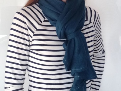 SCARF STYLE from my {Pashmina Refashion Tutorial} DIY 6-Way Convertible Scarf