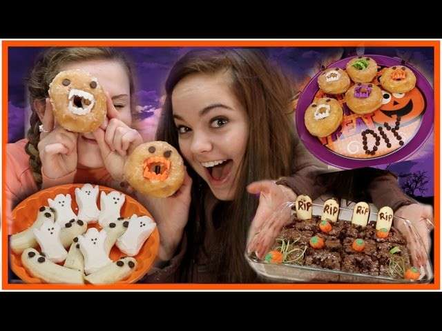 Simple and Cute Halloween DIY Treats!