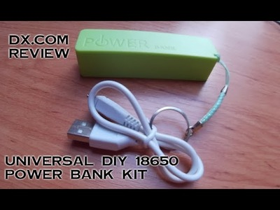 Universal 18650 Battery Box - DIY Power Bank Kit UNBOXING & REVIEW