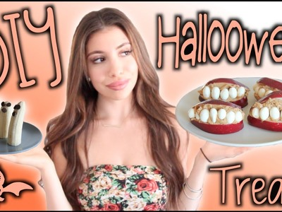 6 DIY Healthy Halloween food & treat life-hacks!