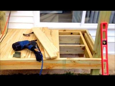 Building a small deck - DIY tips