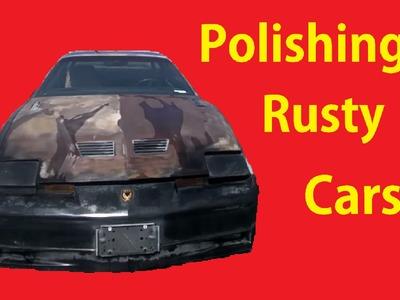 Detailing a Barn Find Patina on Car Polish Wash Cleaning DIY #2