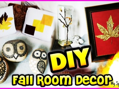 DIY 5 Fall Room Decor Easy and Inexpensive ( tumblr and Pintrest Inspire)