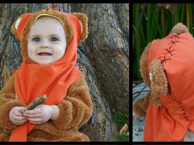 DIY Baby Ewok Costume {EASY} - Whitney Sews