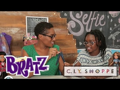 DIY @ Bratz C.I.Y. Shoppe | MyFroggyStuff creates a #Bratz trendy outfit for Yasmin | Bratz