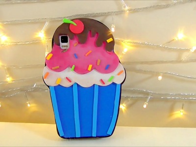 DIY crafts: cupcake mobile case EVA foam Isa ❤️
