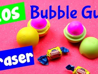 DIY EOS Eraser - Bubble Gum EOS Eraser Craft Idea {Candy Inspired DIY}