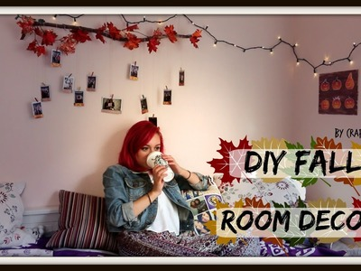 DIY Fall Decor! Branch Photo Display & Art Canvas | Crafty Amy