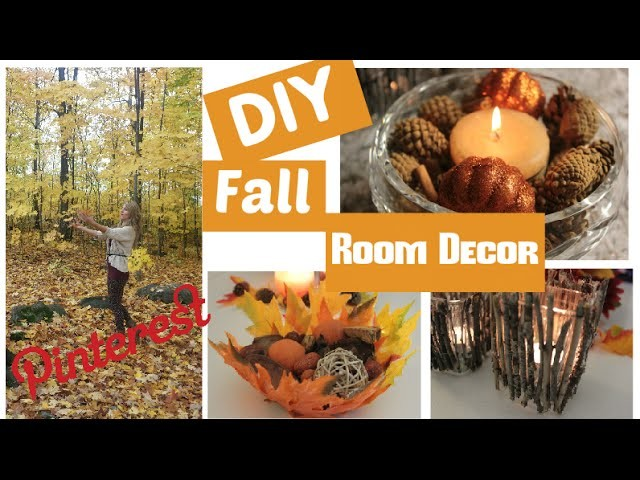 DIY Fall Room Decorations - Pinterest to the TEST edition