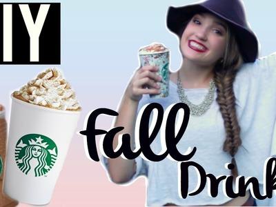 DIY Fall Starbucks Drinks 2015!!