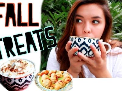 DIY Fall Treats! Graham Latte, Apple Pie, + MORE