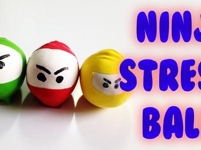DIY for kids: Ninja stress balls
