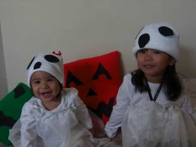 DIY Ghost Costume for Baby.Toddler
