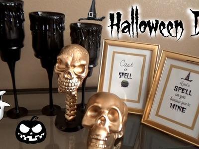 DIY Halloween Decorations on a Budget 2015