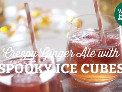 DIY Halloween Recipe: Creepy Ginger Ale with Spooky Ice Cubes | Fall Cooking l Whole Foods Market